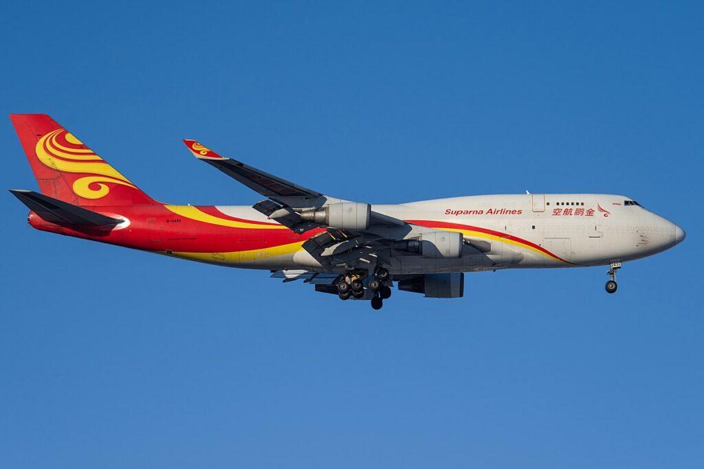 Suparna Airlines Boeing 747-400