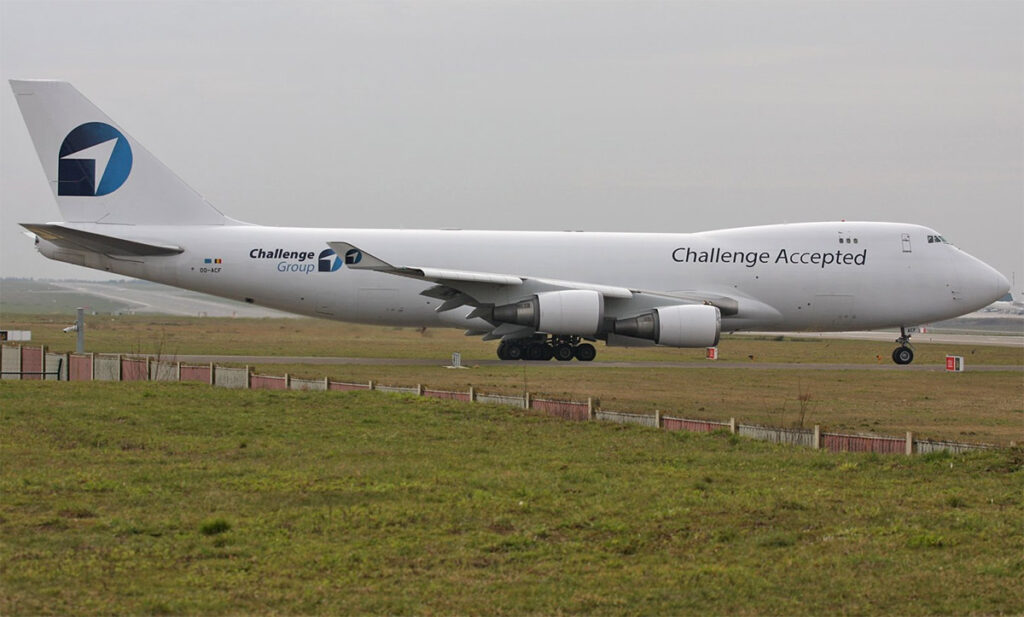 Challenge Airlines Boeing 747-400