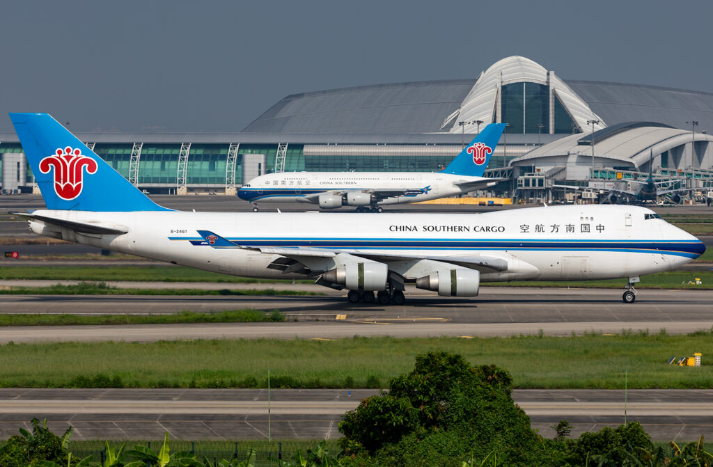 China Southern Cargo Boeing 747-400