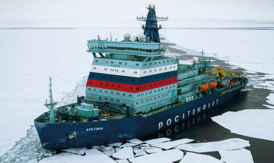 Росатомфлот построит еще два ледокола типа «Арктика»