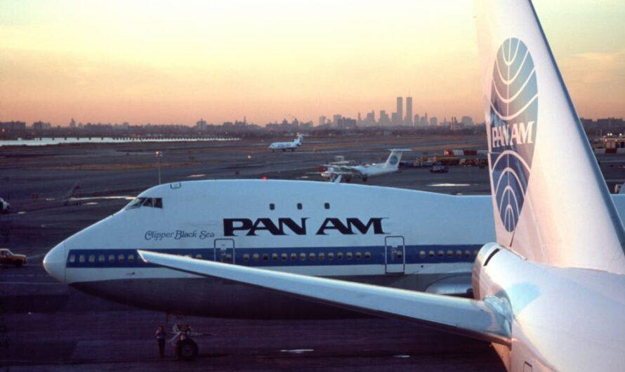 На каких самолетах летала авиакомпания Pan American?