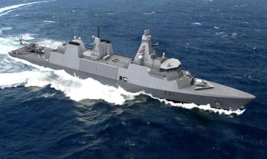 В Великобритании начали строить головной фрегат типа 31